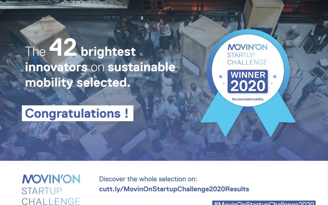 Movin'On Startup Award