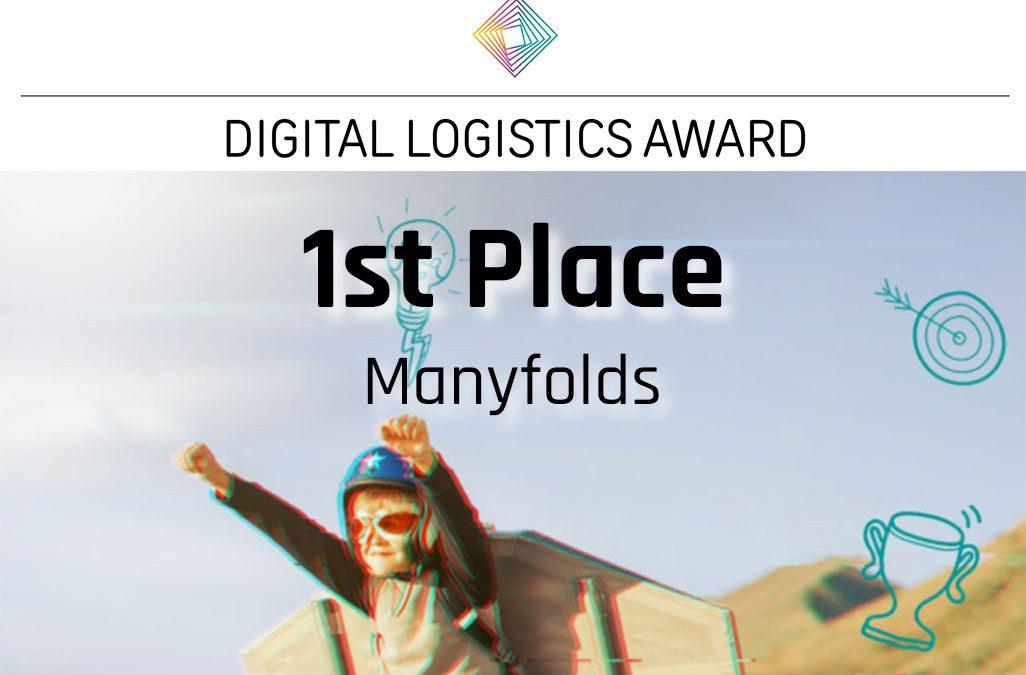 Digital Logistics Award: Gewonnen (1. Platz)!